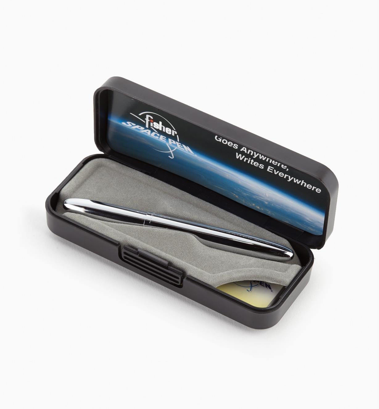 """45K1827 - """"Bullet"""" Space Pen - Chrome Plate"""