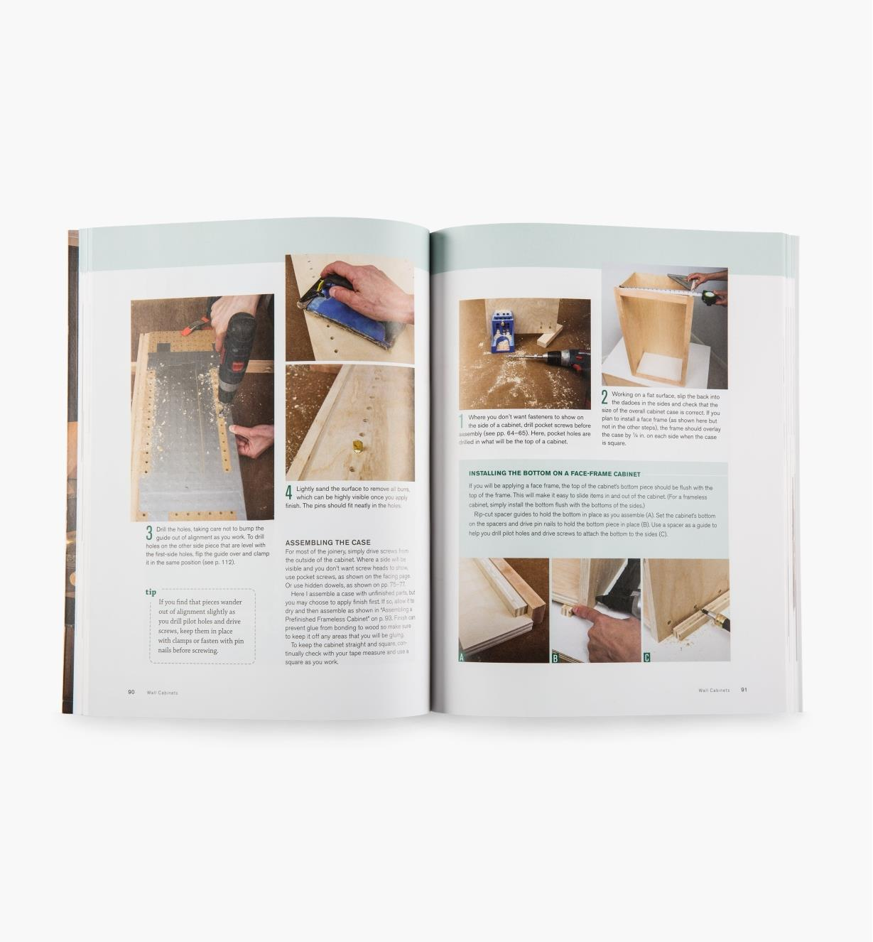73L0381 - Building Kitchen Cabinets and Bathroom Vanities