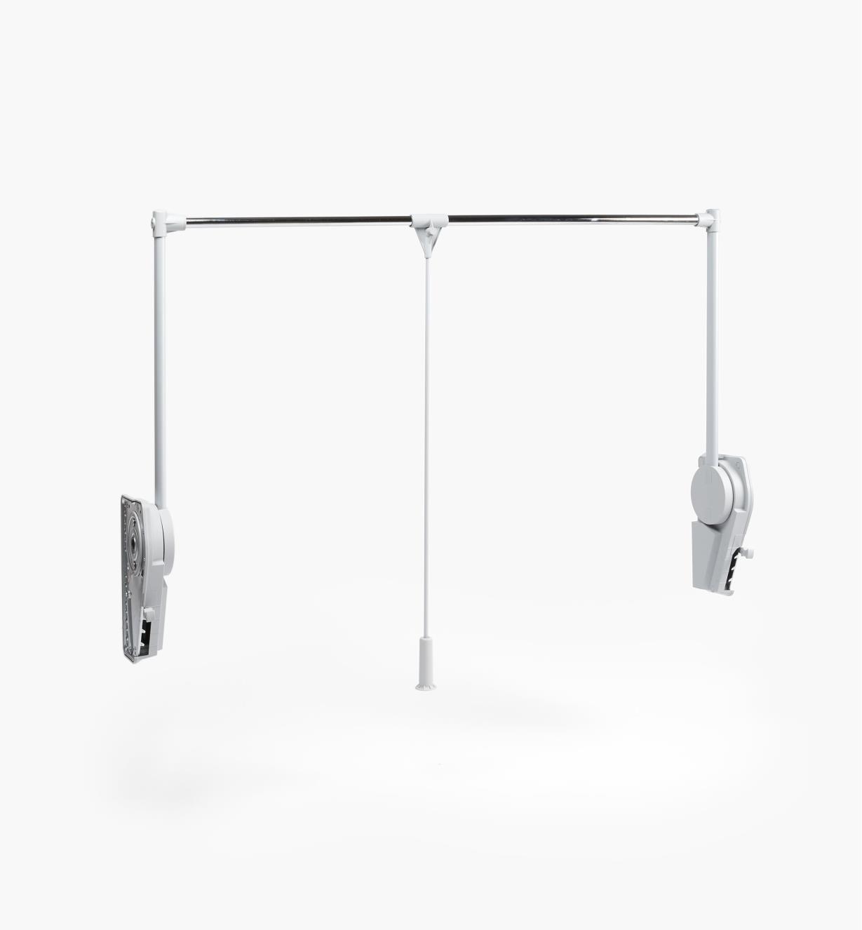 12K1820 - Tringle escamotable, 44lb (20 kg) de charge maximale