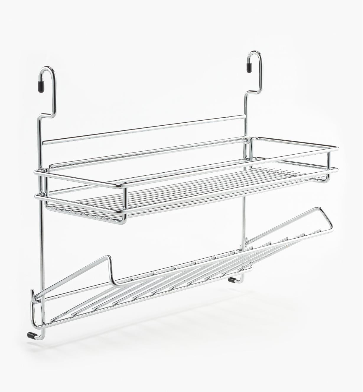 12K3437 - Shelf and Bottle Combination Rack