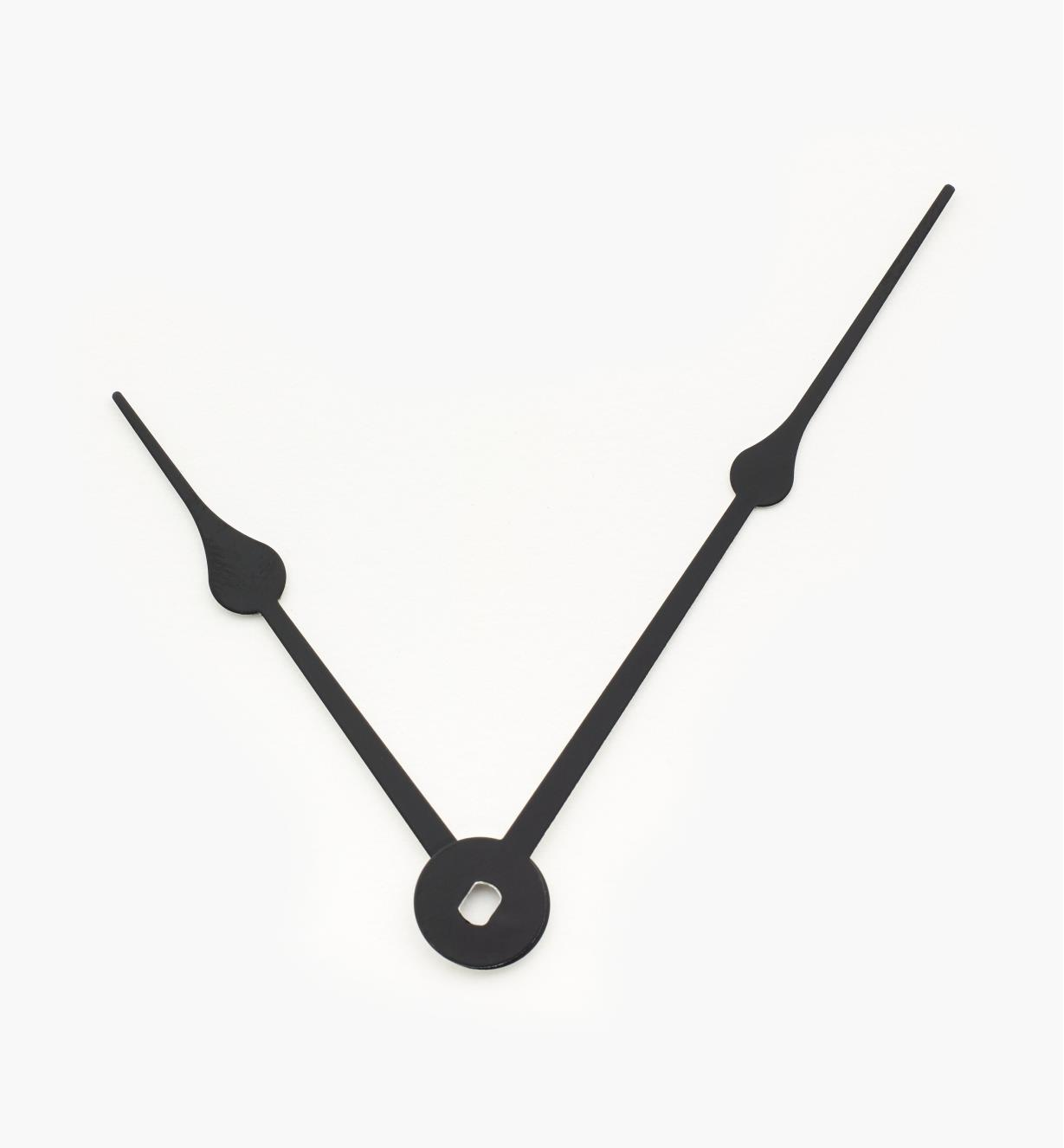 "46K0301 - 3 1/2"" Black Clock Hands, pr"