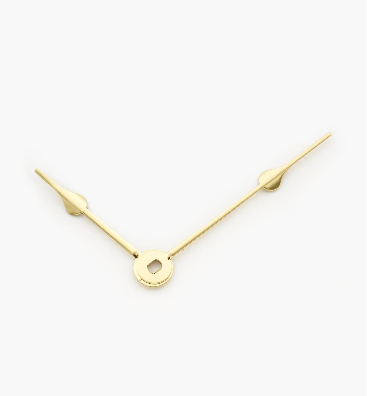 "46K0902 - 2 1/2"" Gold Clock Hands, pr"