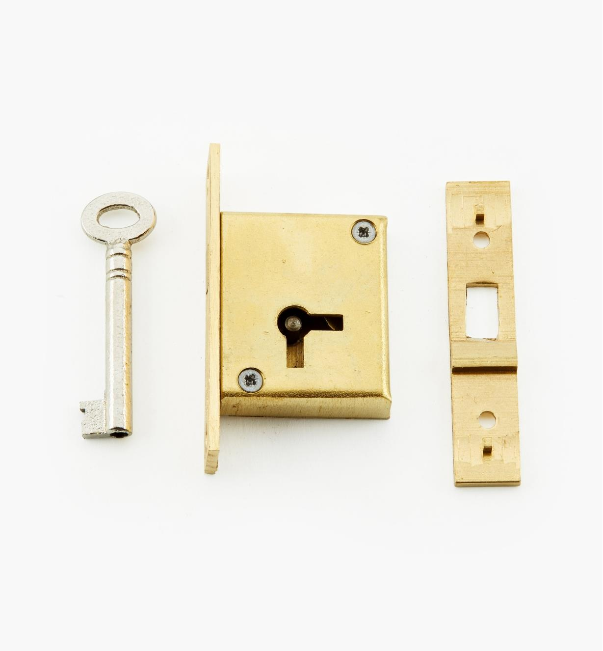 "00P3226 - 2 1/2"" Sliding Mortise Lock (L)"
