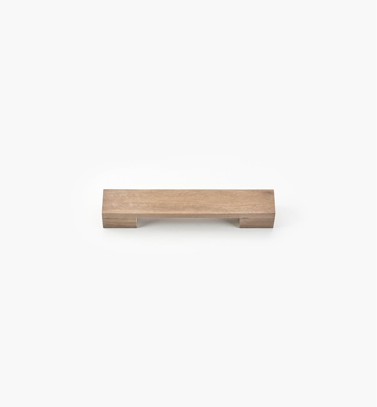 02G2005 - 200mm (160mm) Brick Danish Walnut Handle
