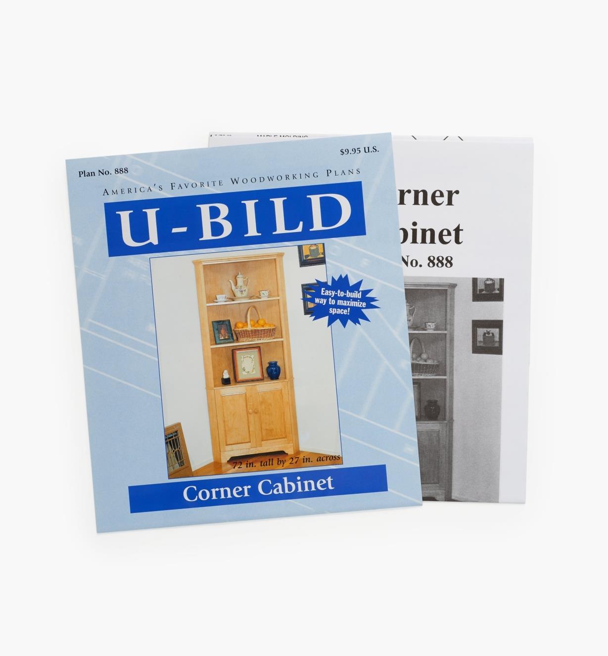 11L0263 - Corner Cabinet Plan