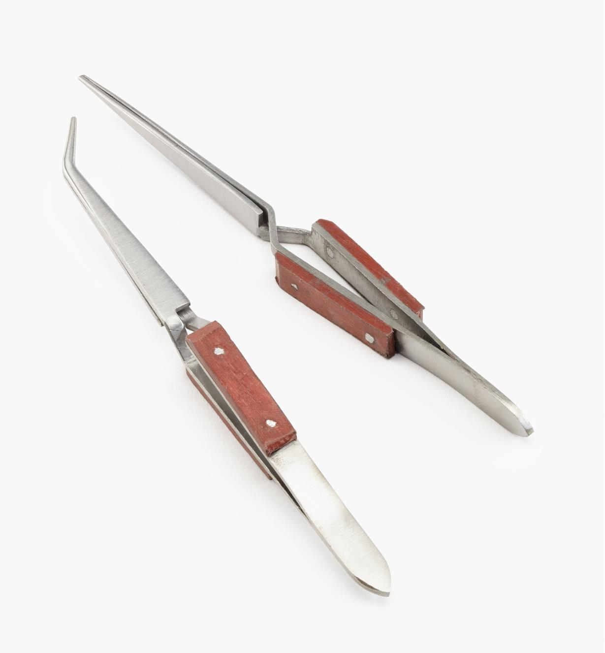 86K9410 - Cross-Clamp Tweezers, set of 2