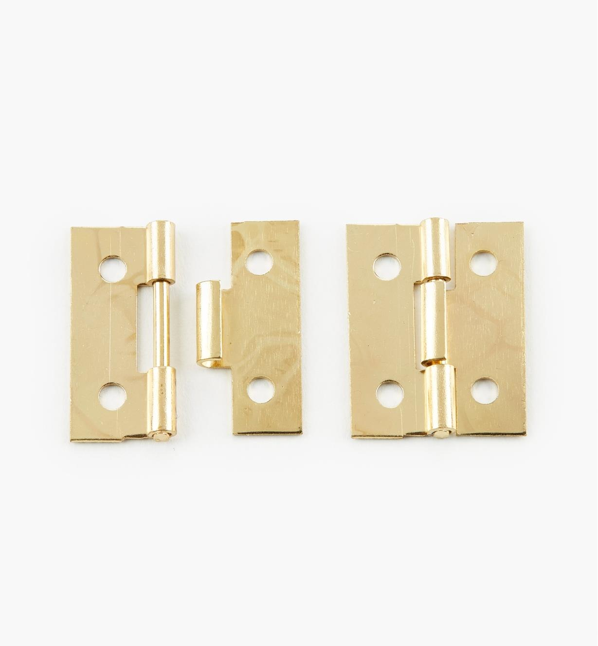 00D4380 - 25mm × 20mm Detachable Hinges, pr.