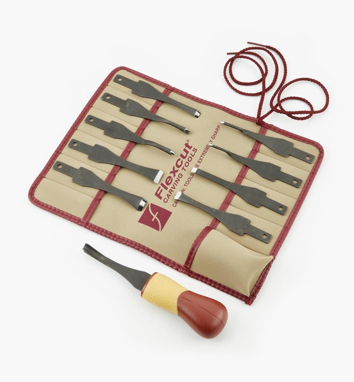 06D0507 - 11-Piece Flexcut Carving Set