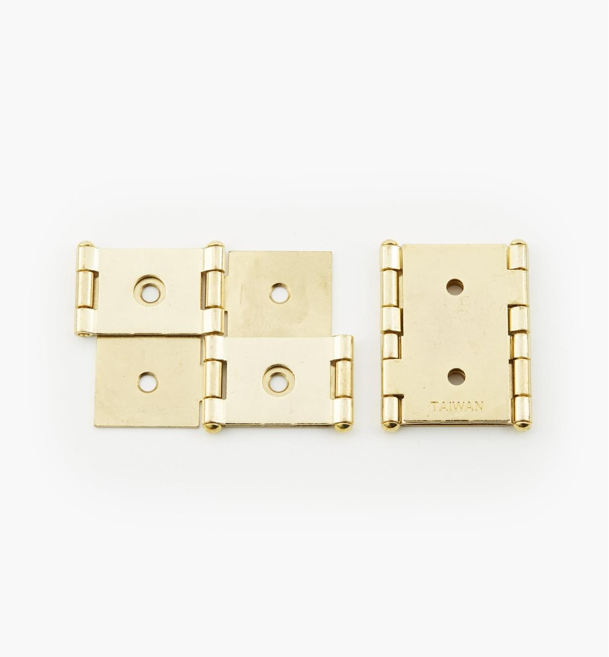 "00H5302 - 1 1/8"" to 1 1/4"" Screen Hinges, pr."