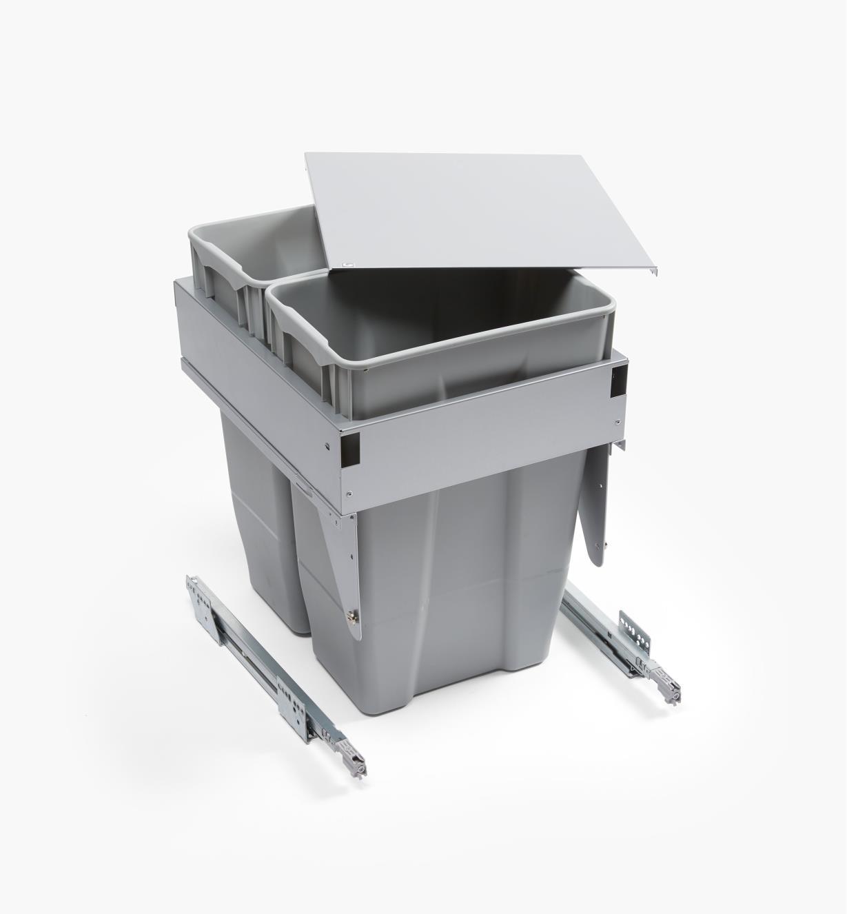 12K7811 - Door-Mount Dual Waste Bin