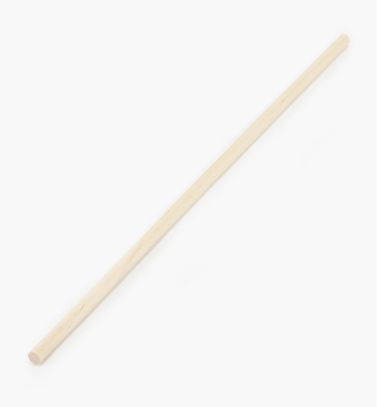 """41K3001 - Hardwood Rod 1/4"""" x 1'"""