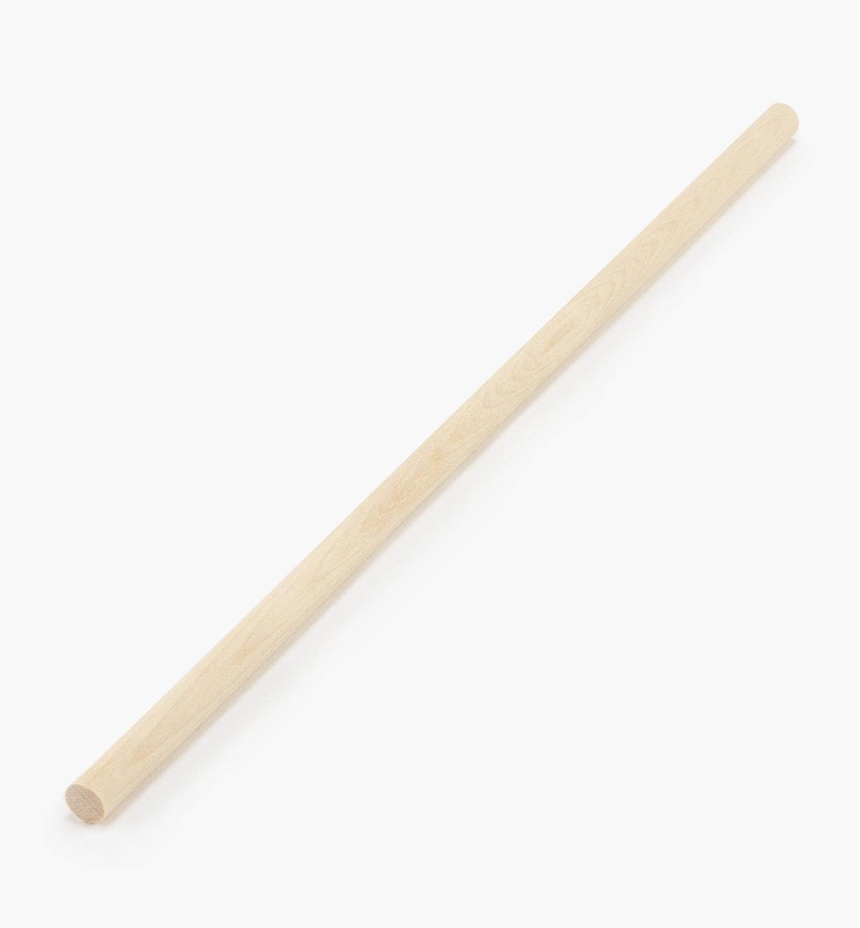 """41K3003 - Hardwood Rod 3/8"""" x 1'"""