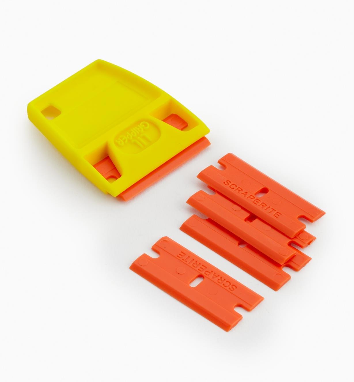 86K0315 - Orange Blades (5) & Holder