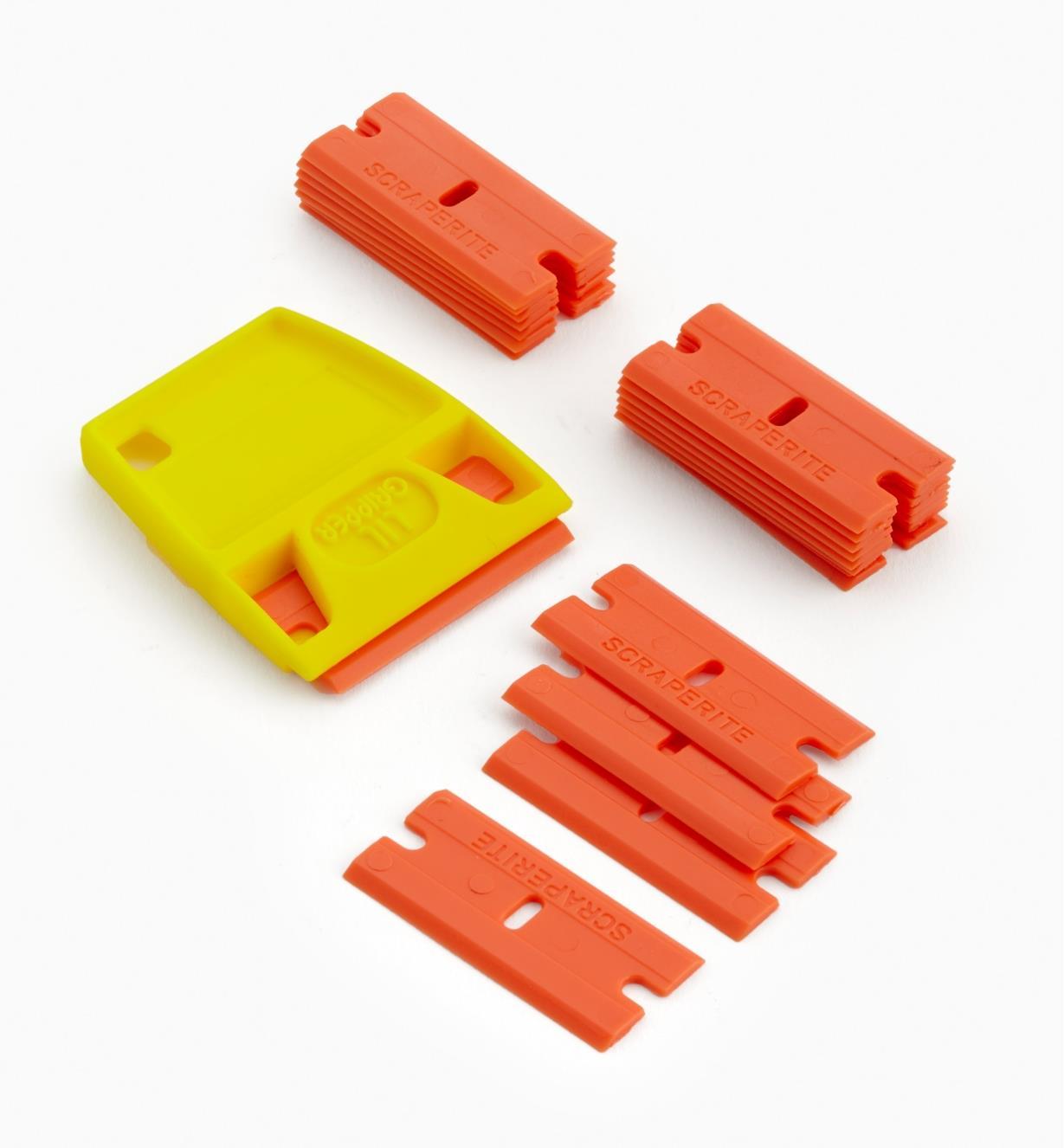 86K0316 - Orange Blades (25) & Holder