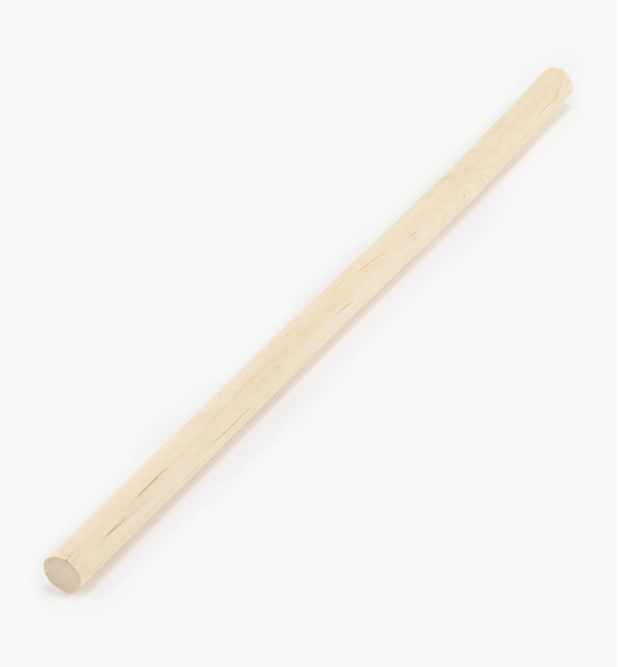 """41K3004 - Hardwood Rod 1/2"""" x 1'"""