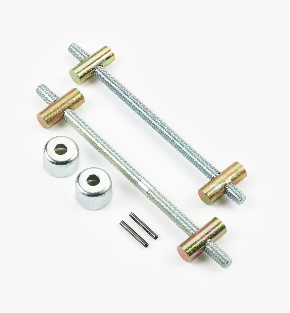 """03F0724 - 2 1/4"""" Dubuque Handscrew Kit (4"""" Jaw), each"""