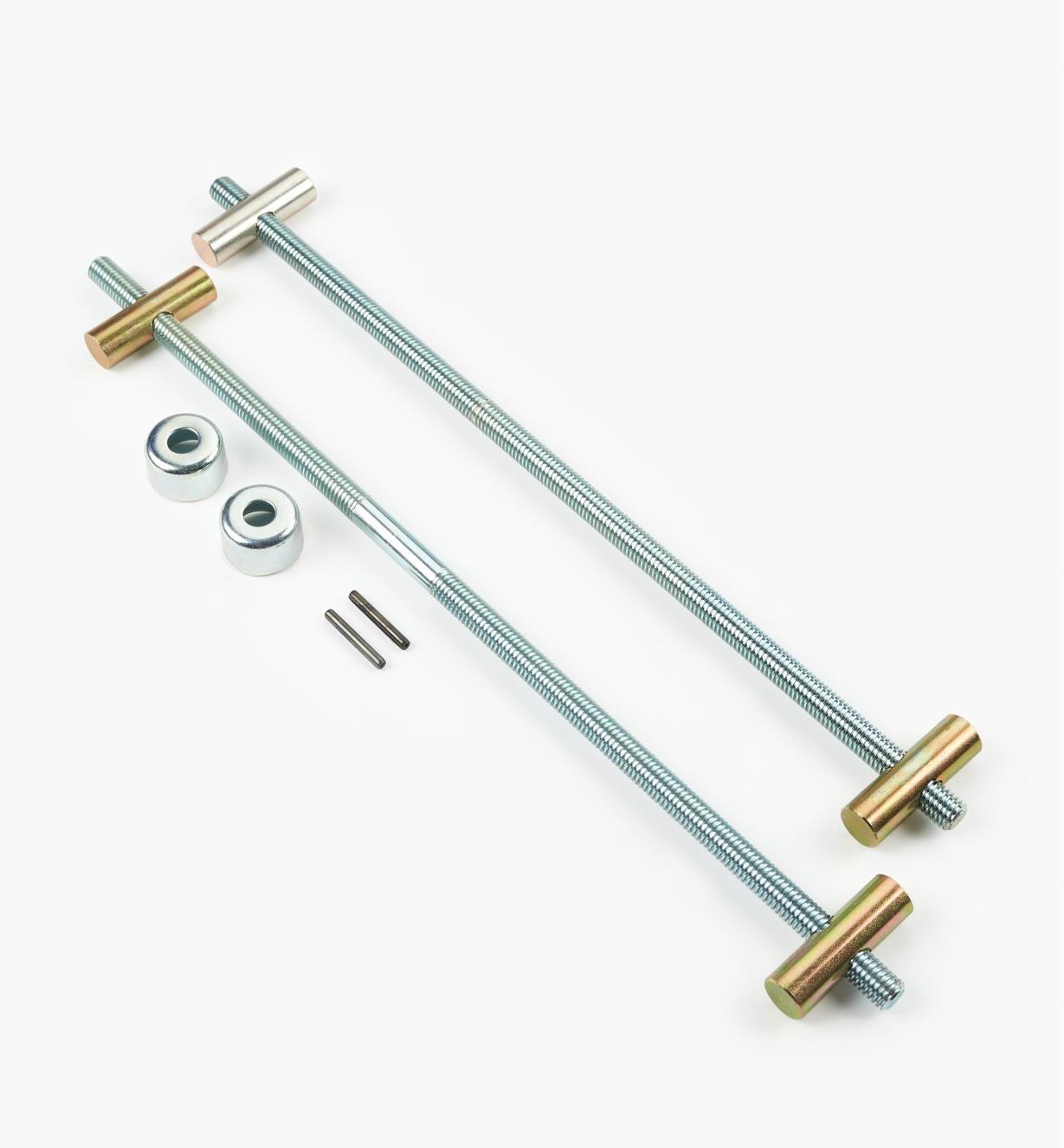 """03F0734 - 10 1/4"""" Dubuque Handscrew Kit (14"""" Jaw), each"""