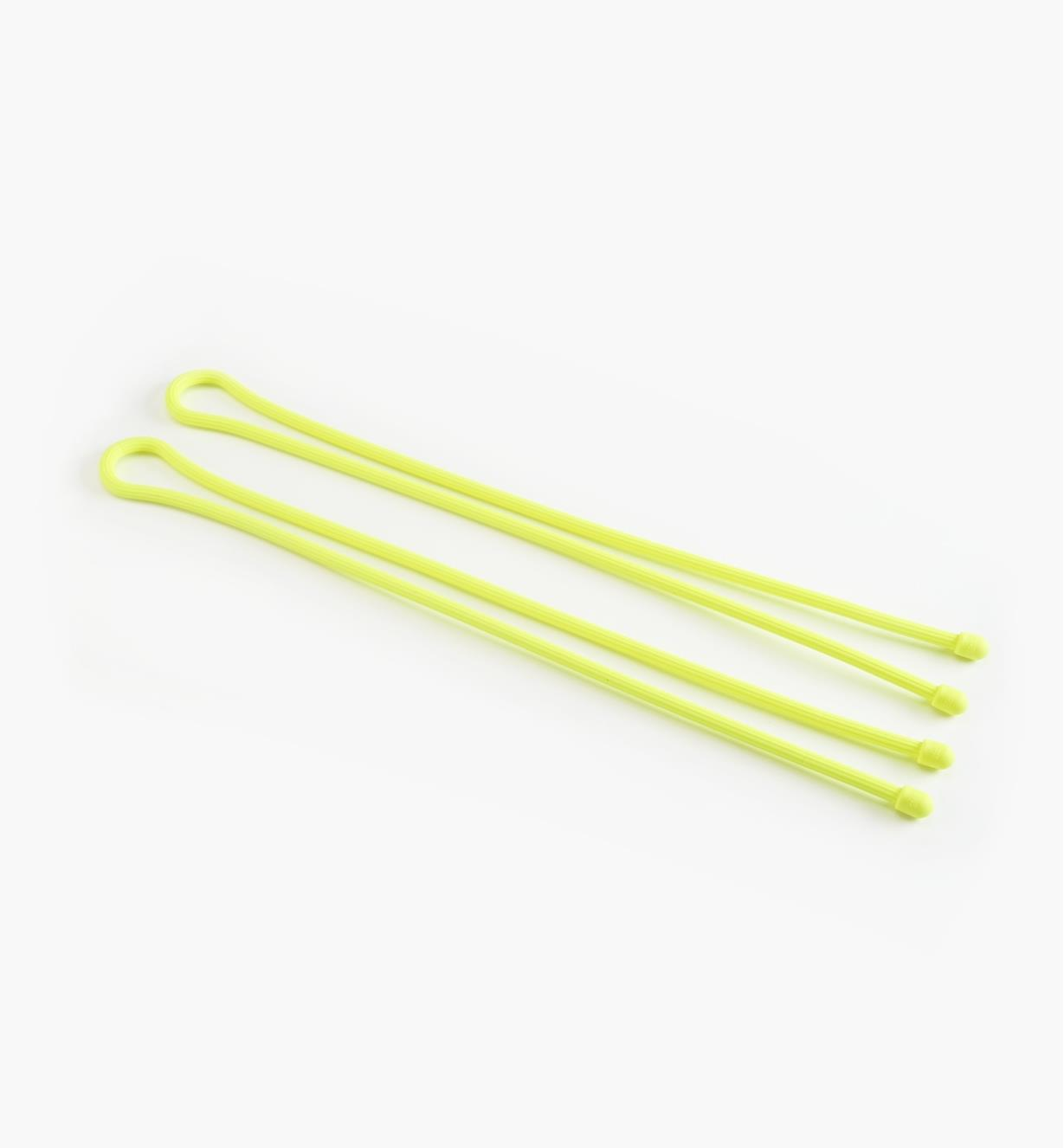 "03K7635 - 32"" Yellow Gear Ties, pkg. of 2"