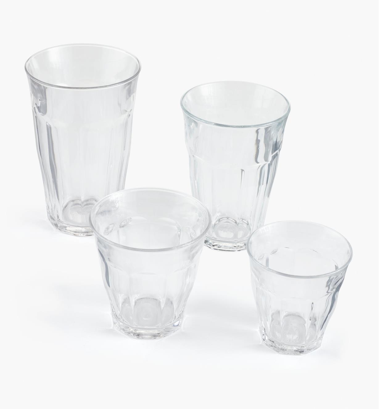 44K0809 - Ensemble de 24 verres Picardie Duralex