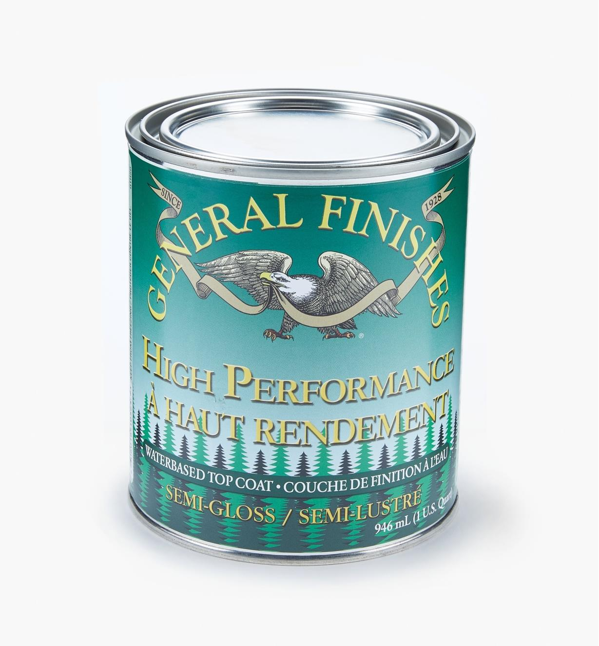 56Z1605 - High Performance Semi-Gloss Varnish, quart