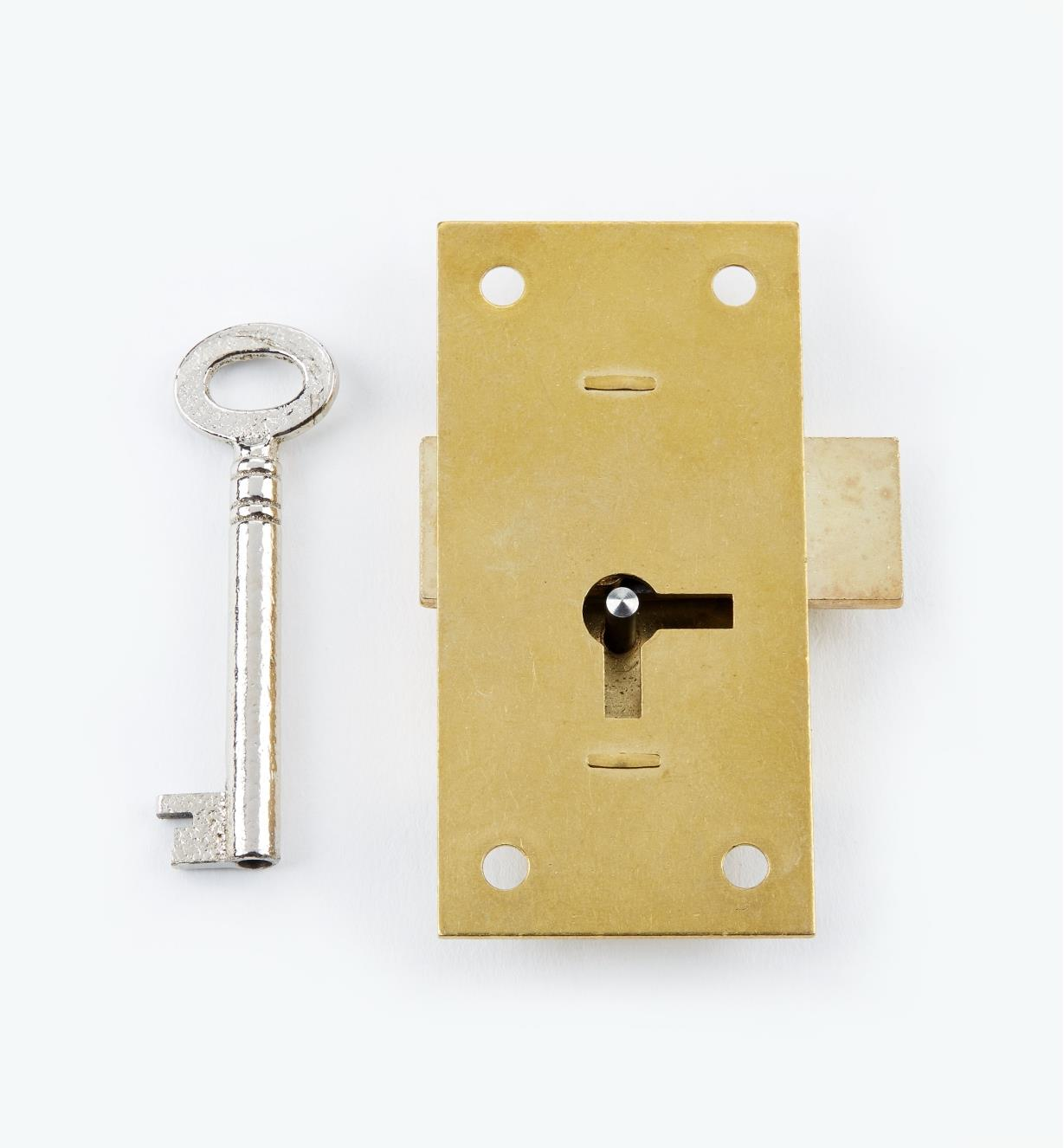 "00P1930 - 3"" Economy Straight Cupboard Lock"