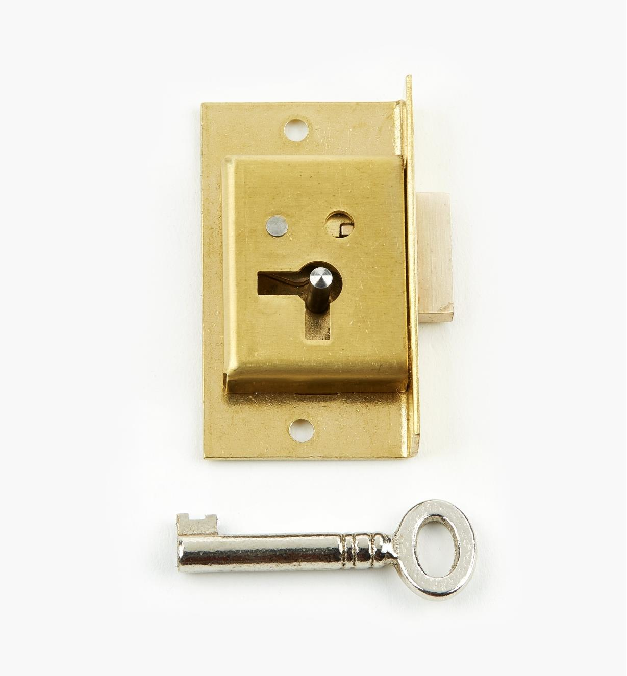 "00P2120 - 2"" Economy Cut Cupboard Lock (R)"