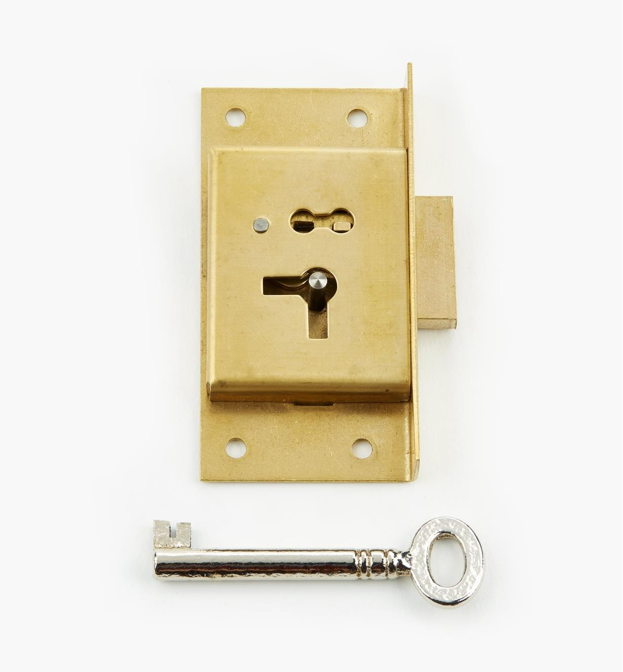 "00P2130 - 3"" Economy Cut Cupboard Lock (R)"