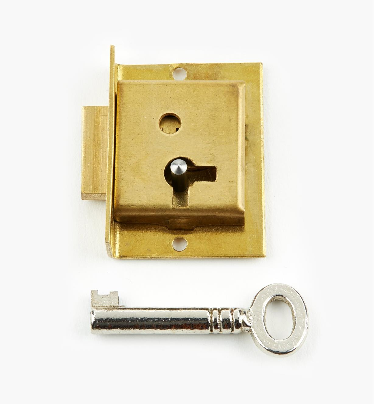 "00P2215 - 1 1/2"" Economy Cut Cupboard Lock (L)"