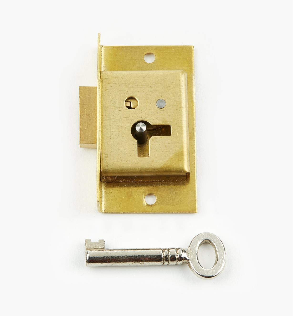 "00P2220 - 2"" Economy Cut Cupboard Lock (L)"