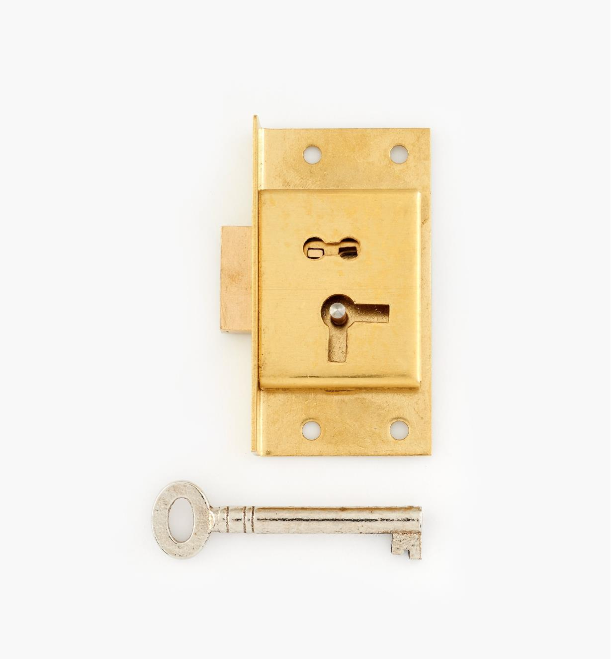"00P2225 - 2 1/2"" Economy Cut Cupboard Lock (L)"