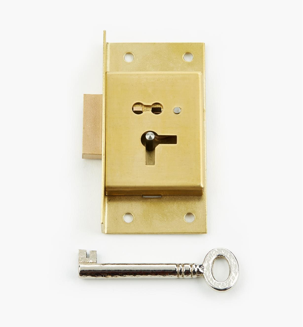 "00P2230 - 3"" Economy Cut Cupboard Lock (L)"