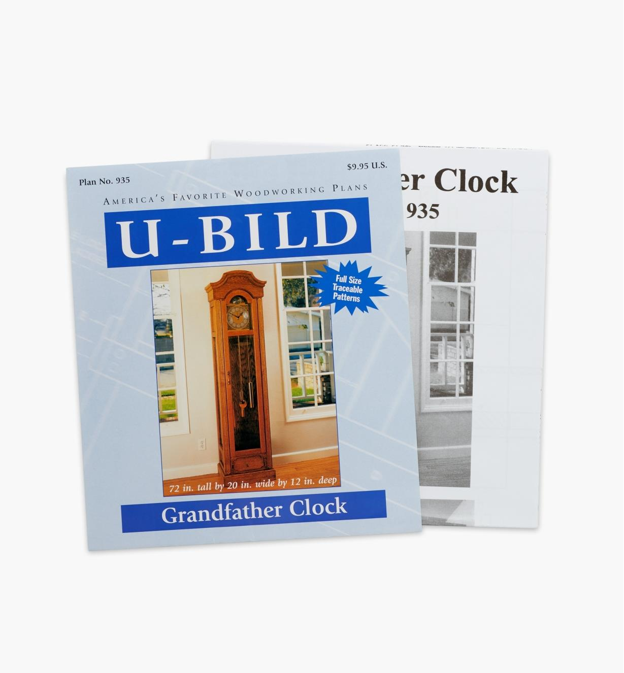 11L0257 - Grandfather Clock Plan