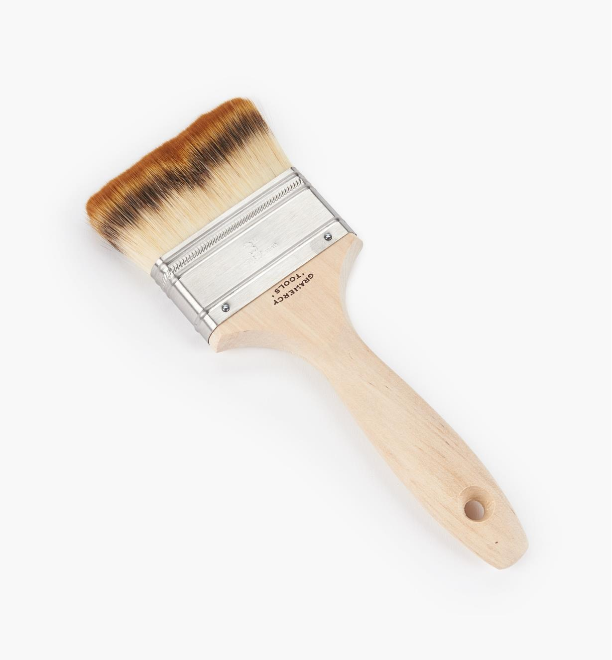 "33T0916 - 3"" Gramercy Synthetic Badger-Hair Finish Brush"