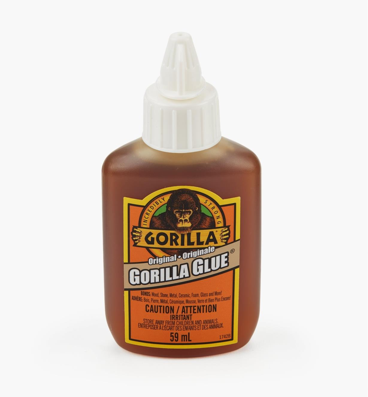 62K1410 - Colle Gorilla Glue, 2 oz liq.