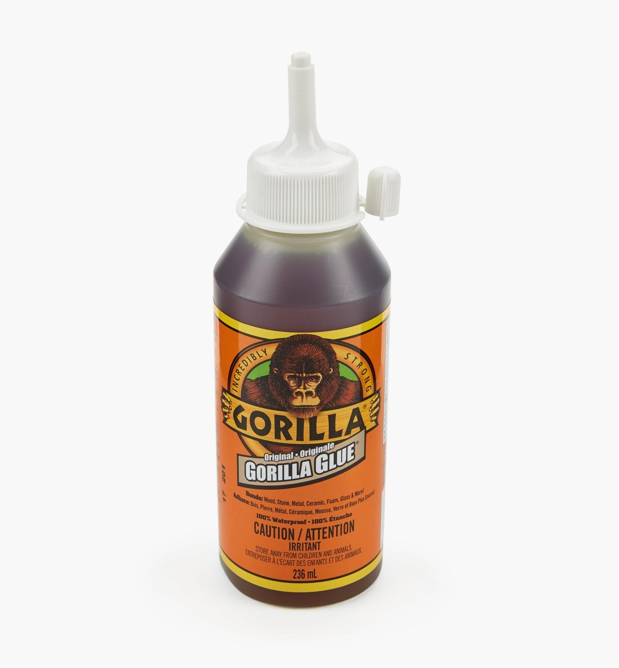 62K1412 - Colle Gorilla Glue, 8 oz liq.