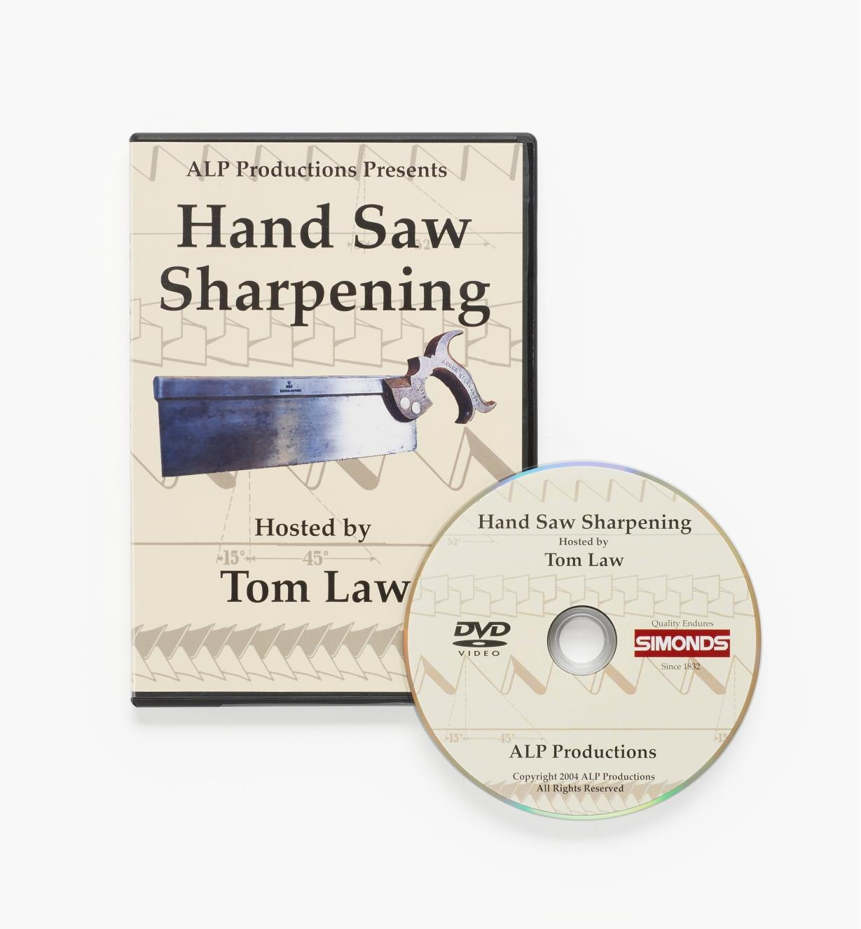45L0137 - Hand Saw Sharpening – DVD