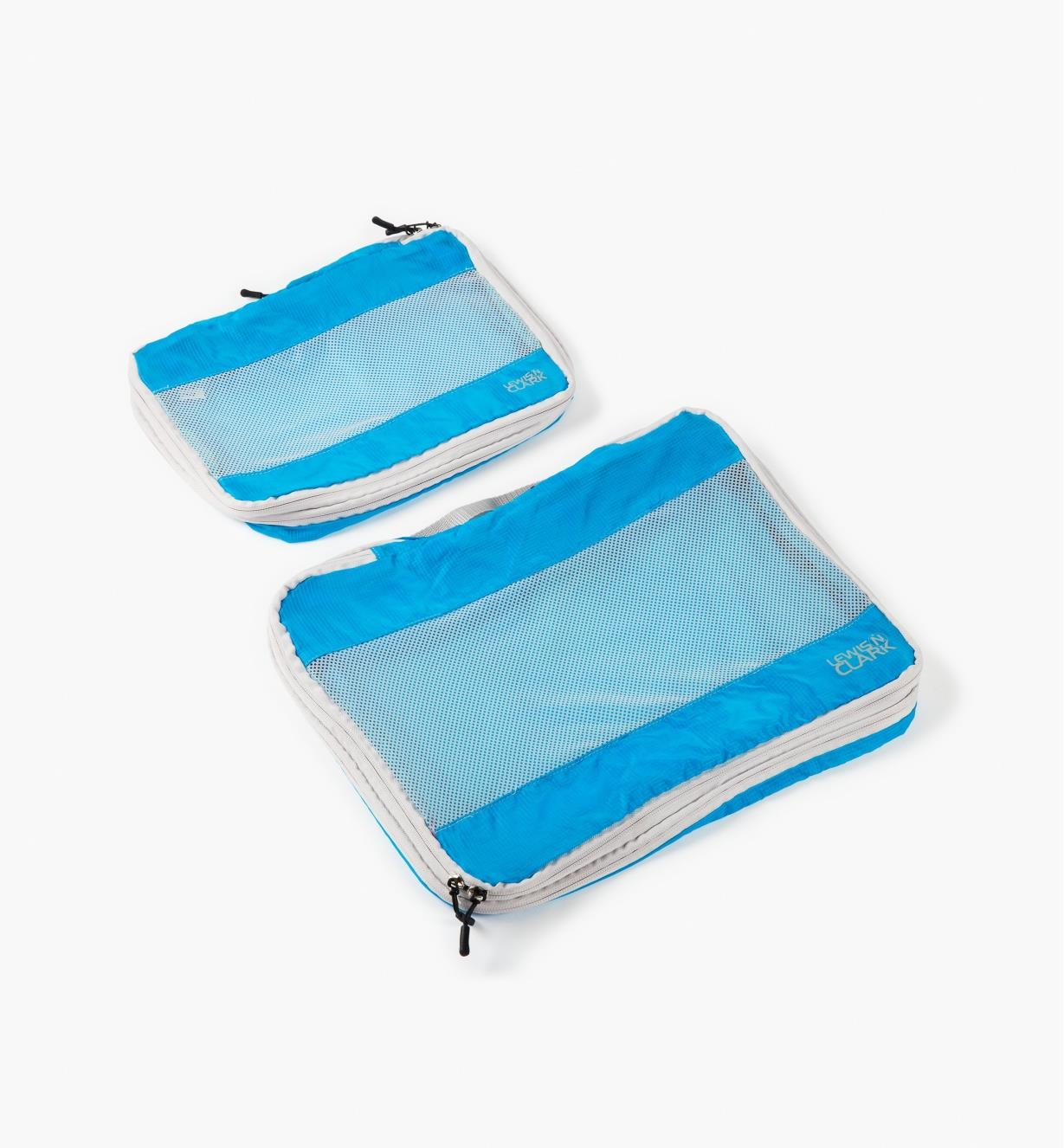 GB358 - Blue Expandable Packing Cubes, set of 2