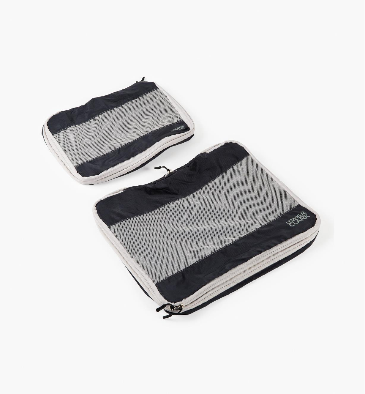 GB359 - Gray Expandable Packing Cubes, set of 2