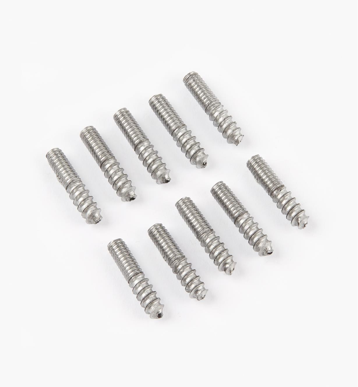"00N3206 - 8 32 x  3/4"" Hanger Bolts, pkg. of 10"