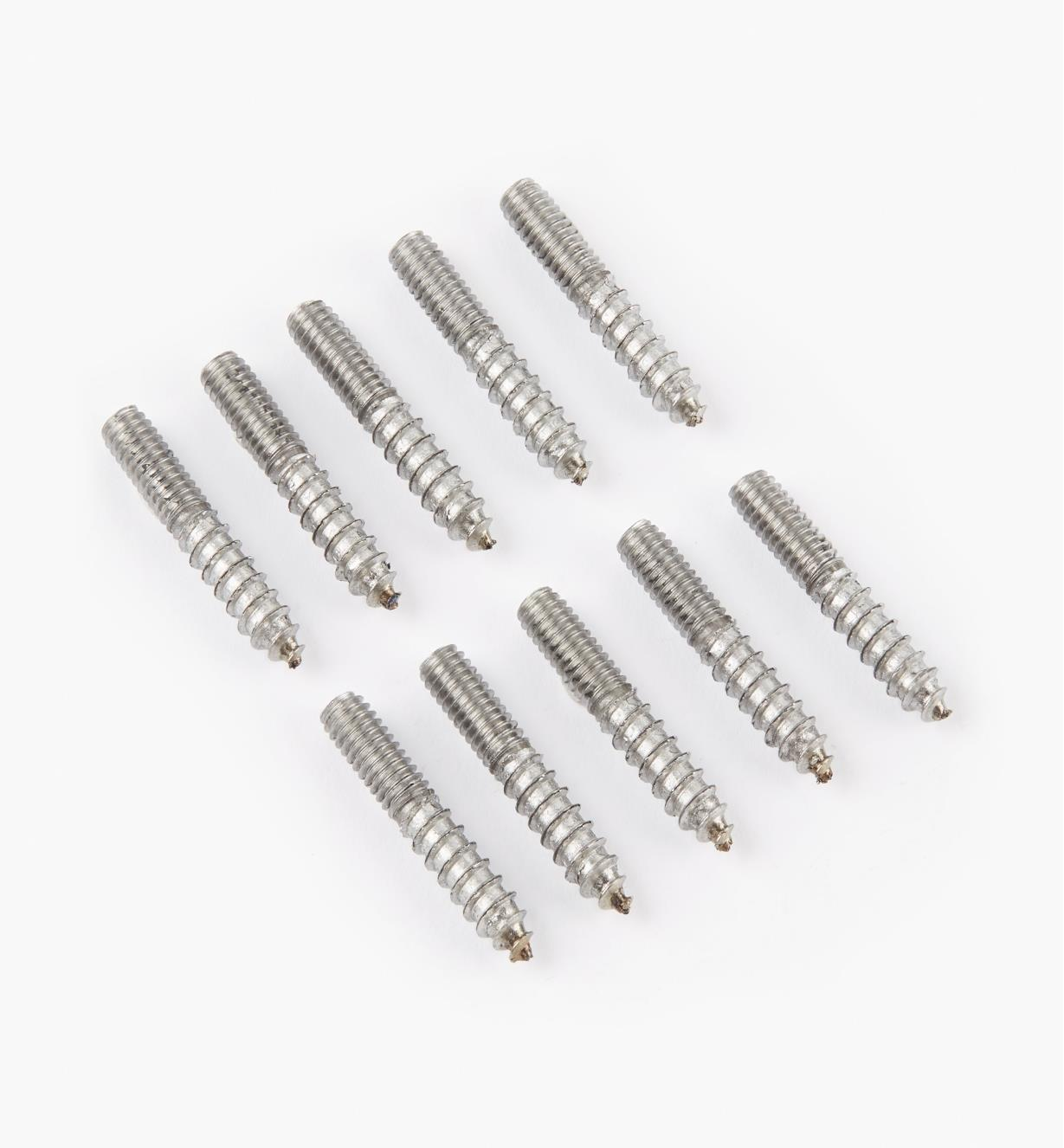 "00N3208 - 8 32 x 1"" Hanger Bolts, pkg. of 10"