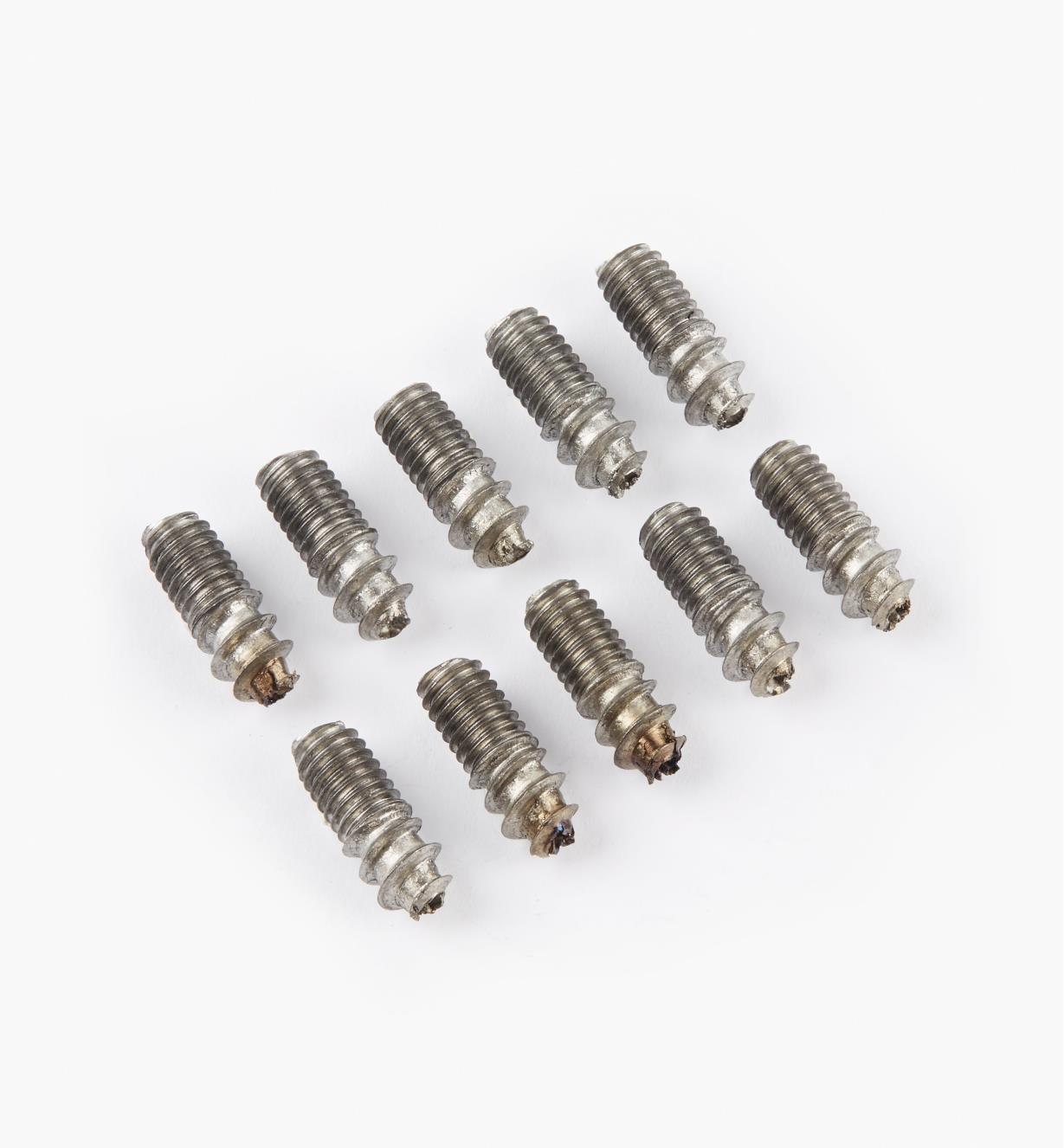 "00N6005 - M6 x  5/8"" Hanger Bolts, pkg. of 10"