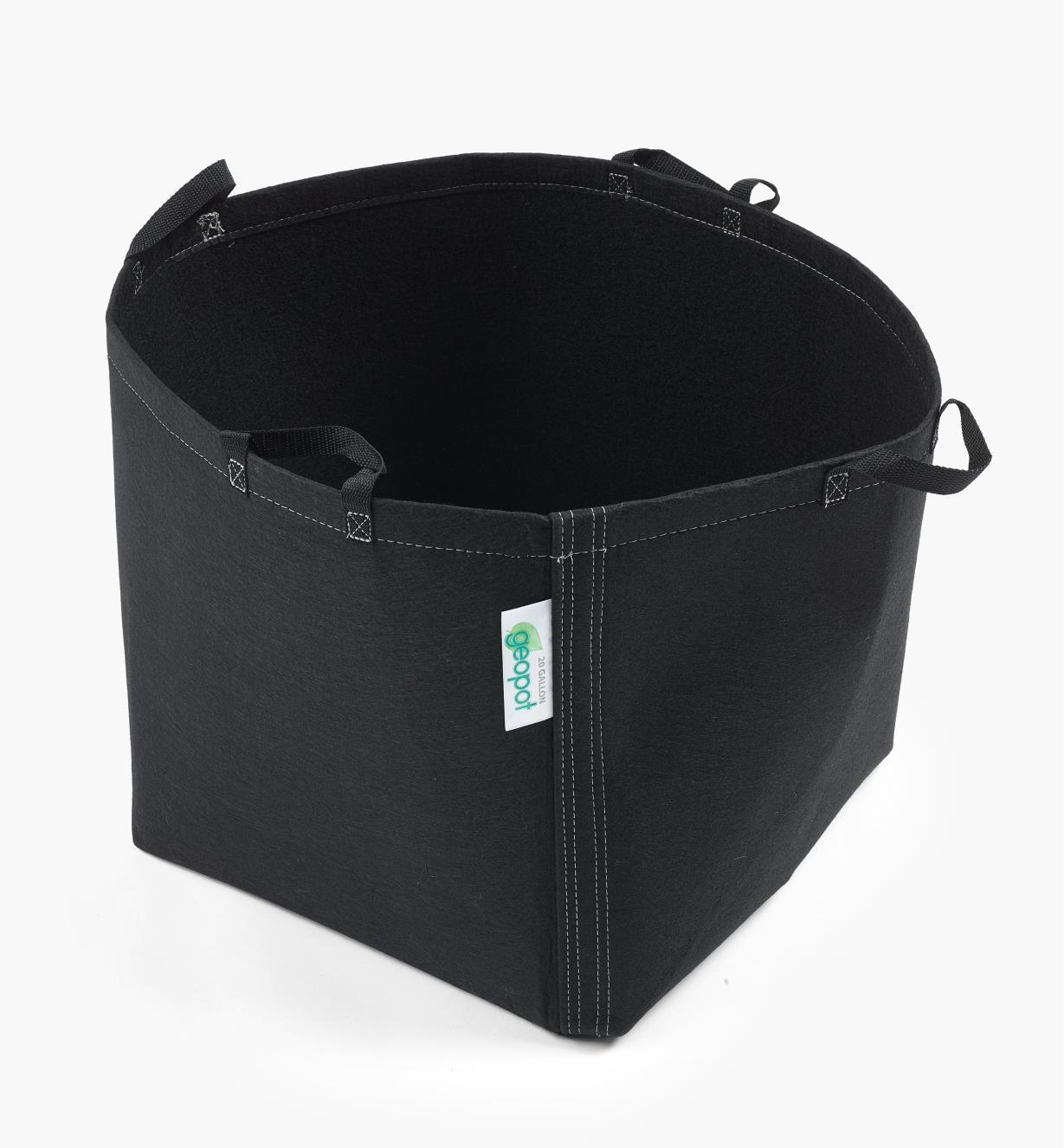"""XB864 - 20"""" x 16"""" Fabric Pot, 20 U.S. gal./75.7l"""