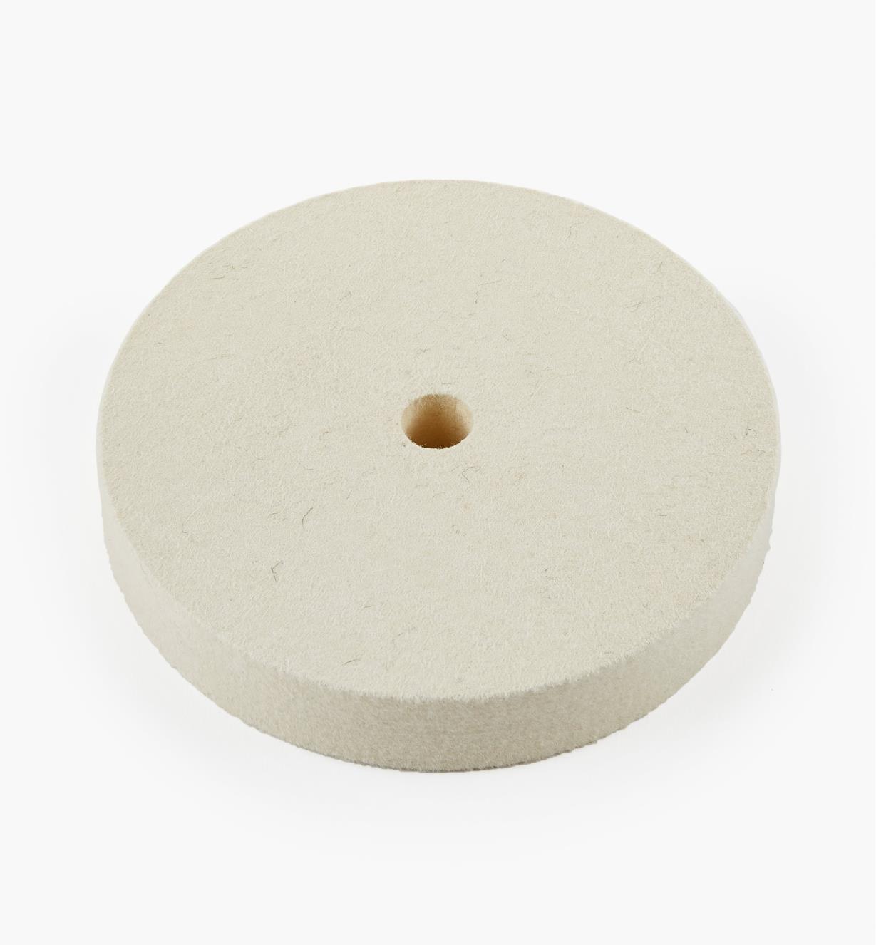 08M4105 - Disque à polir en feutre dur, 6pox1po