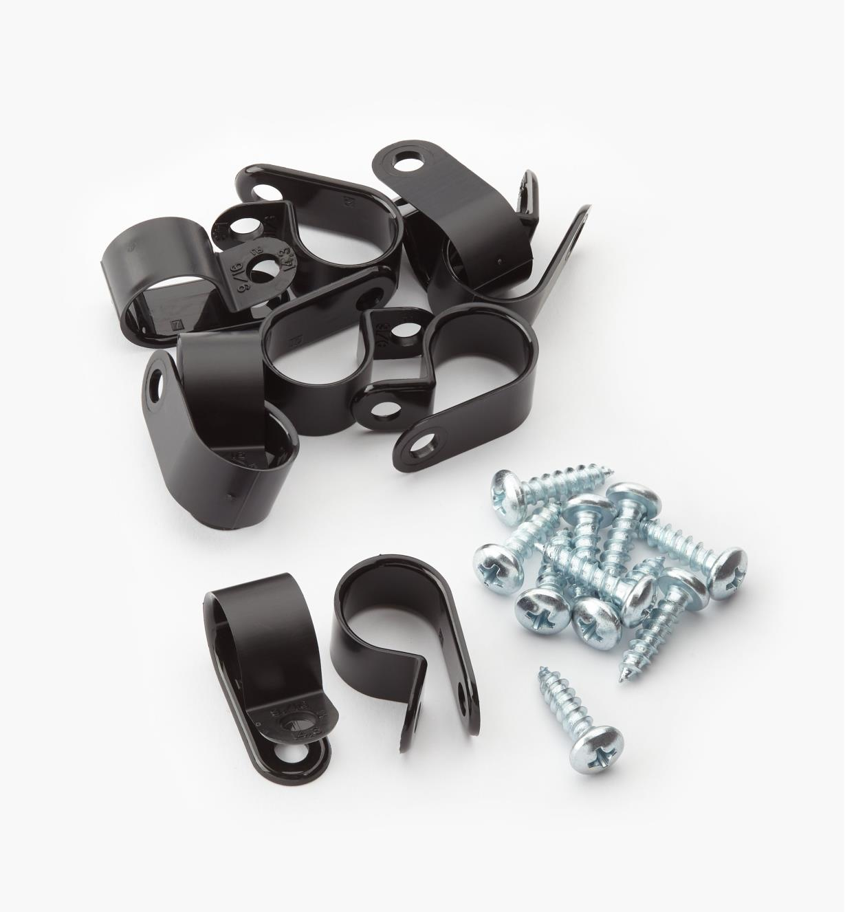 XB829 - Mounting Clips, pkg. of 10