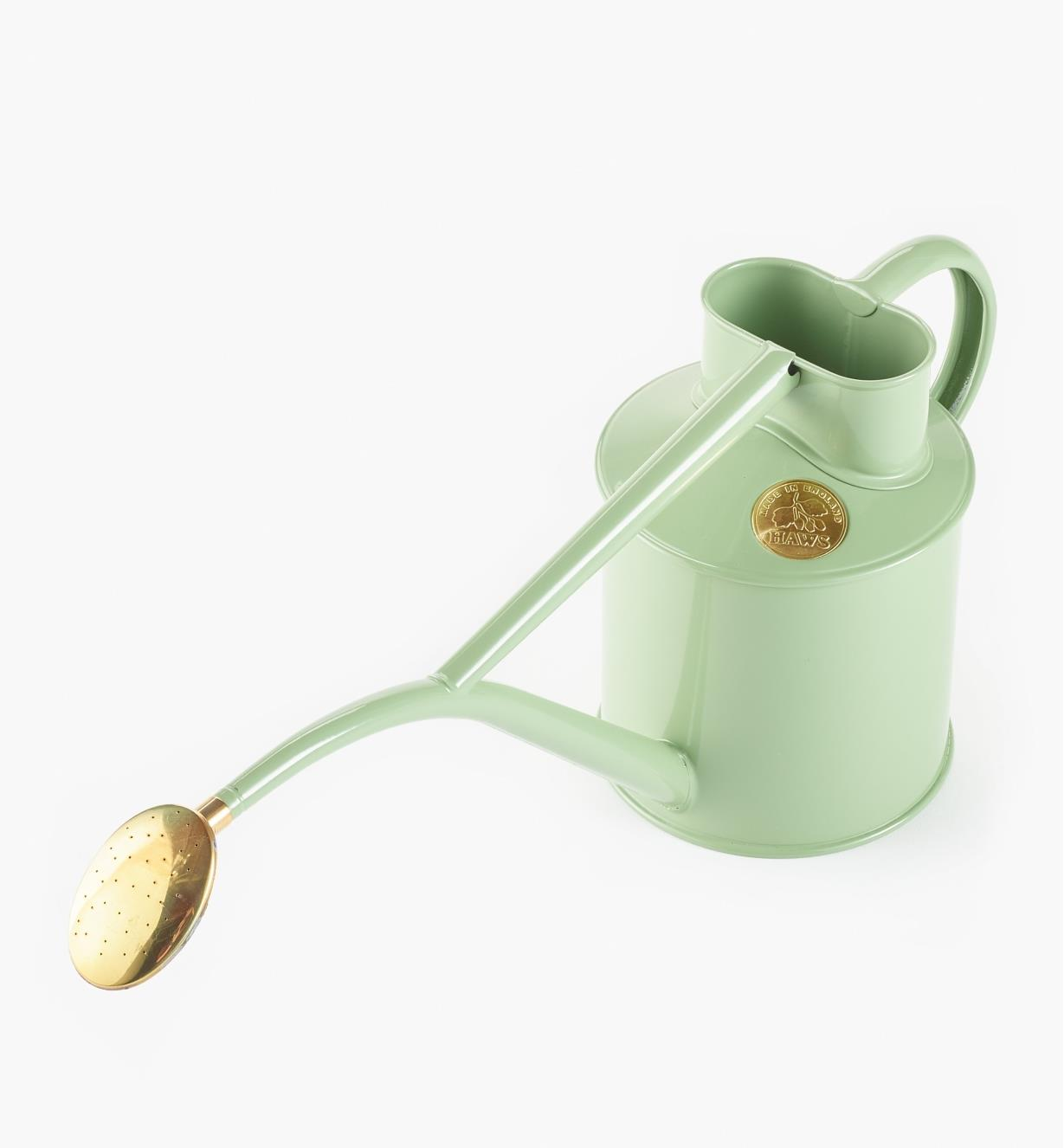XB920 - Haws Metal Watering Can, Sage
