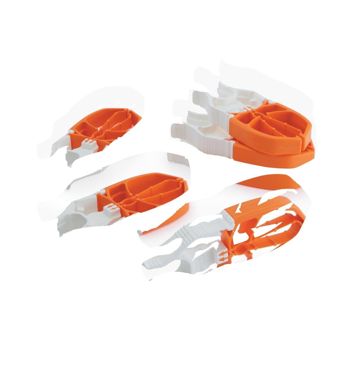 09A0216 - Pinces à linge FixClip, lepaquetde6