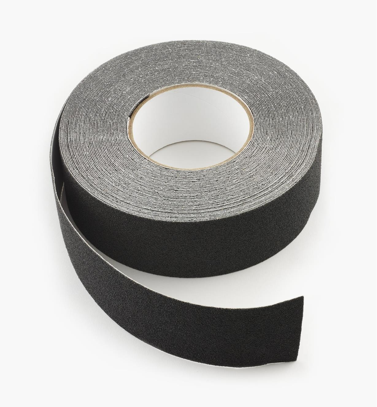 25K0112 - Ruban noir de 2po, 20verges