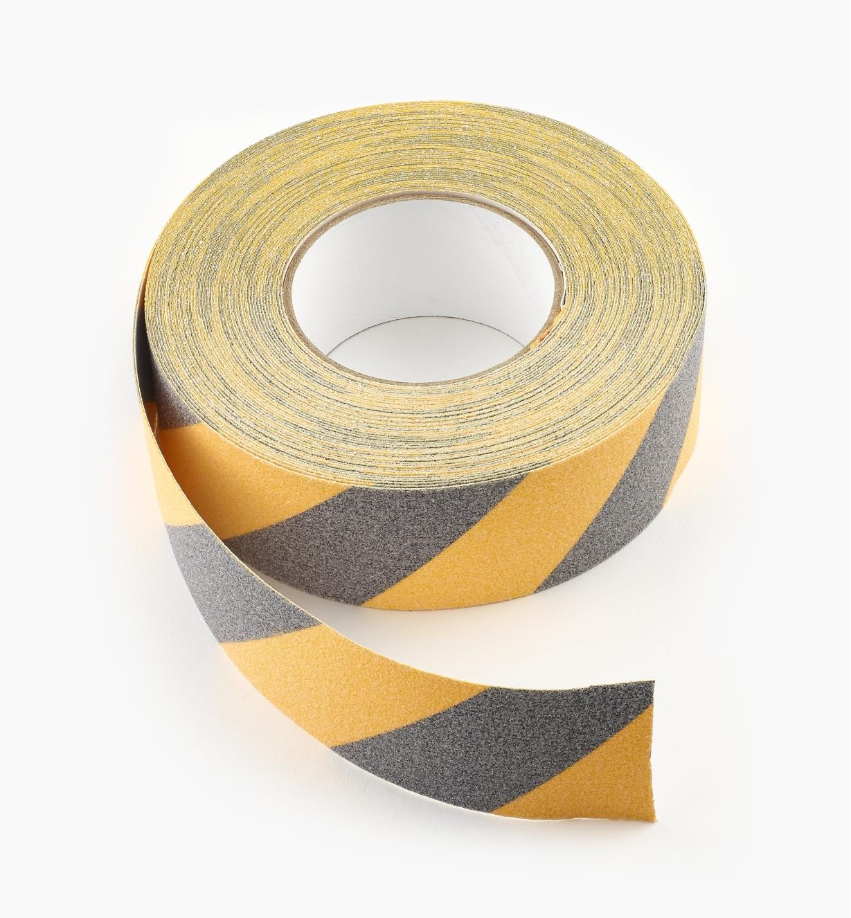 "25K0122 - 2"" Black and Yellow Tape, 20 yd."