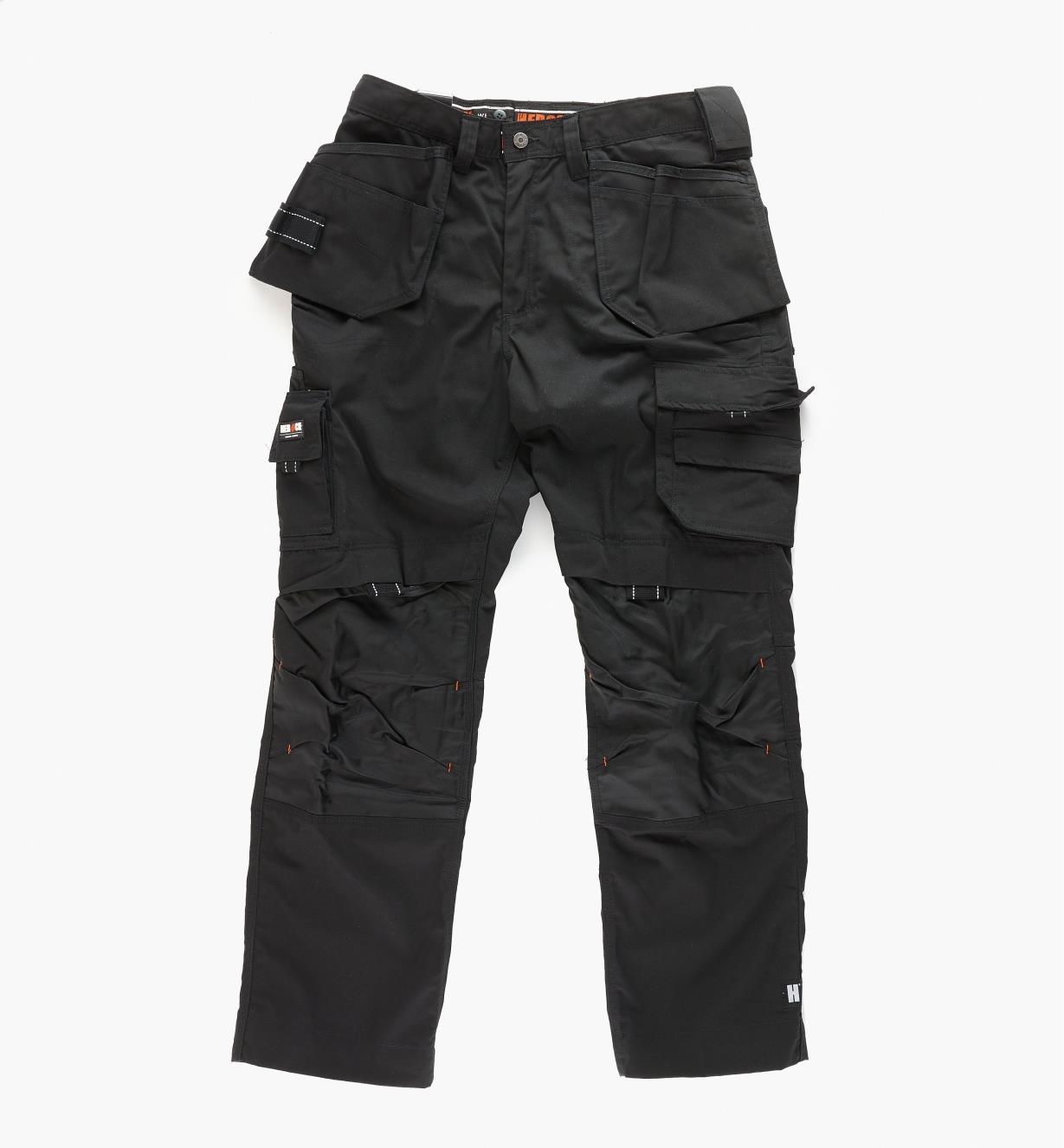 Black Medium-Weight Pants