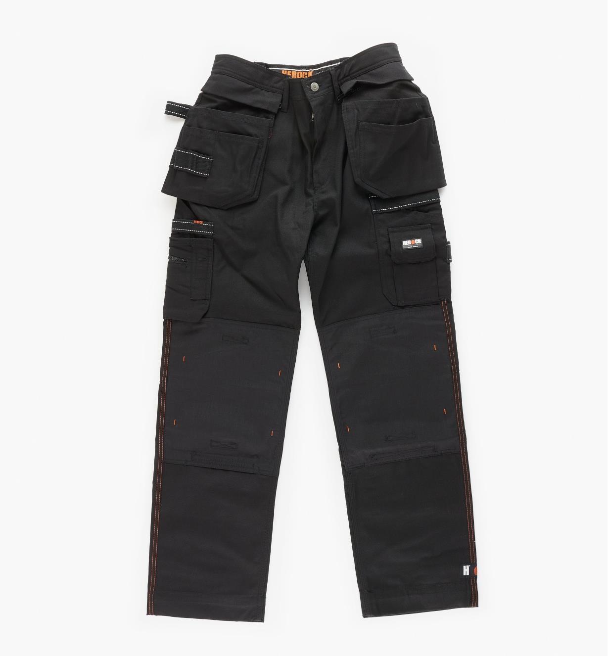 "68K4942B - 32"" Black Heavyweight Pants"